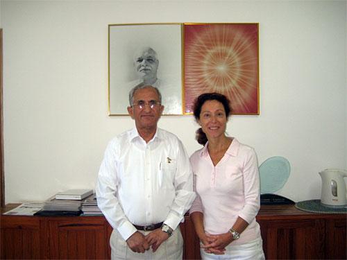 Dr. Pratap Midha en Ineke Koedam